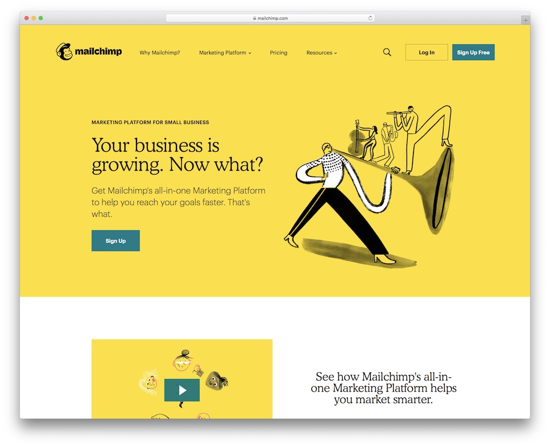 mailchimp free marketing productivity tool
