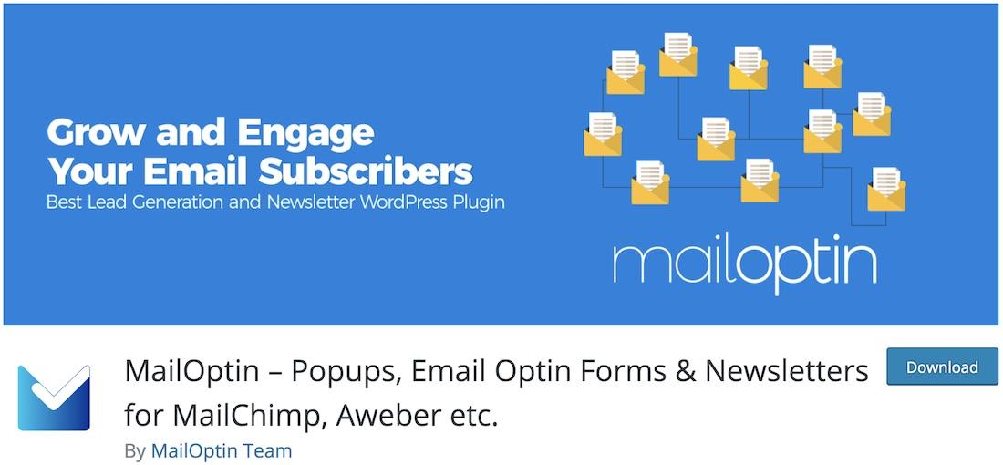 mailoptin wordpress call to action plugin