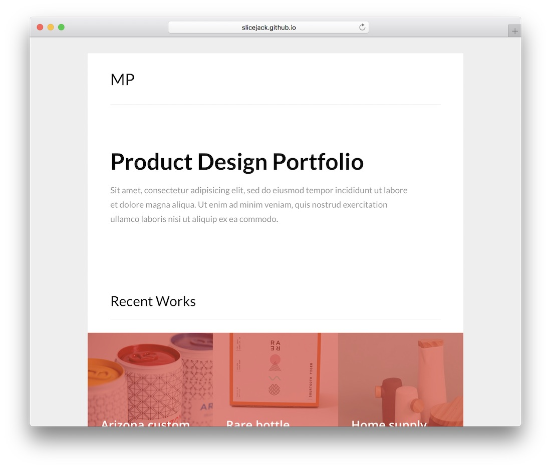 mailportfolio responsive html email template