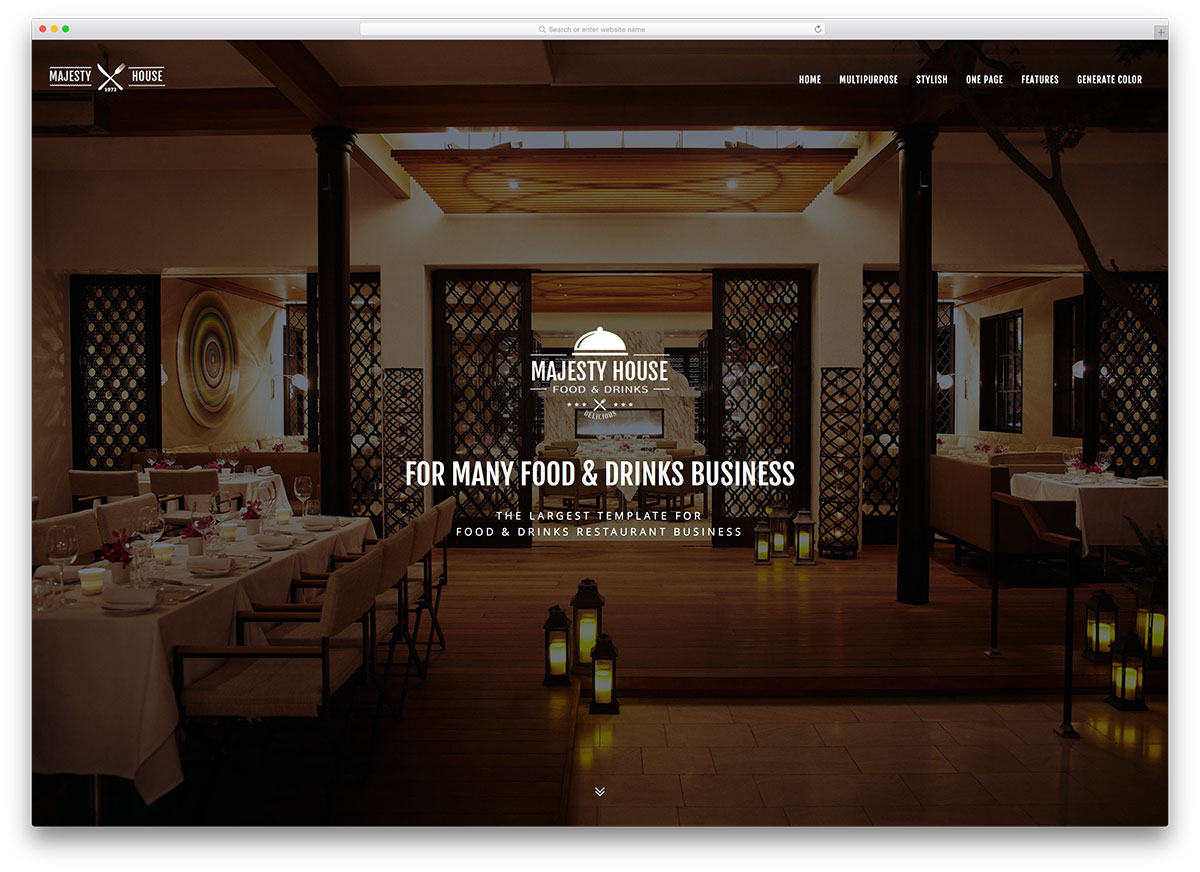 top 20 html5 restaurant website templates 2017 colorlib