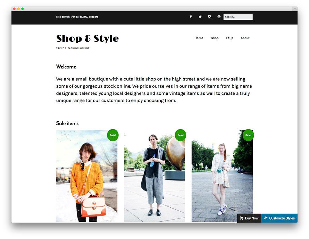30+ Best Free WooCommerce WordPress Themes 2017 - colorlib