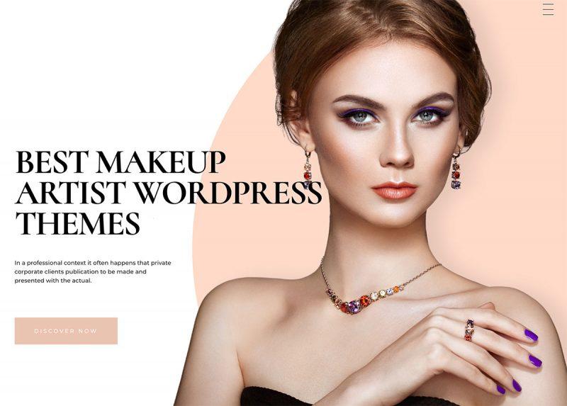 17 Best Makeup Artist WordPress Themes