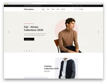 Malefashion Free Template