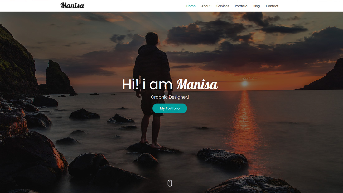 manisa-bootstrap-personal-website-templates