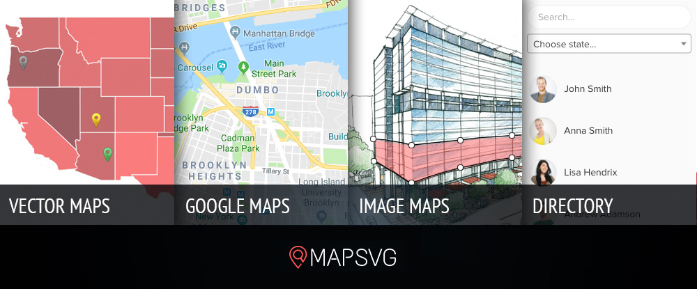 mapsvg WordPress mapping plugin