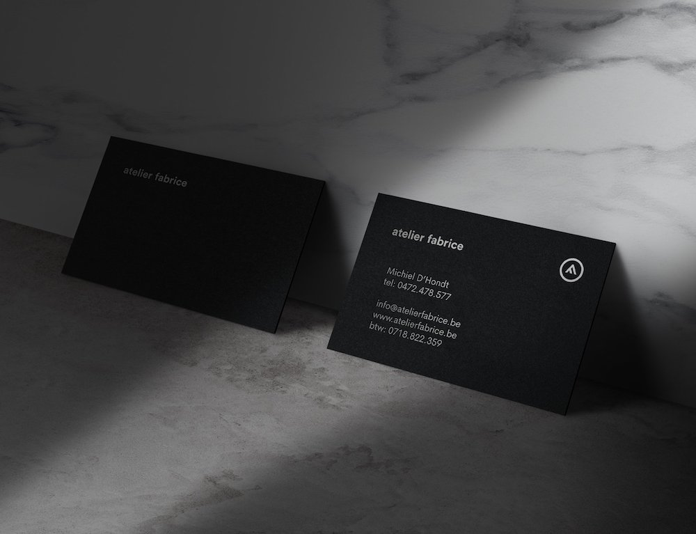 marble business mockup