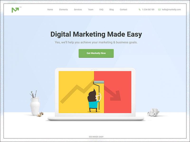 Marketing Pro – SEO, Landing, Marketing WordPress Theme
