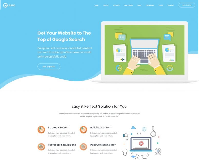 19 Top Advertising & Marketing Website Templates 2018