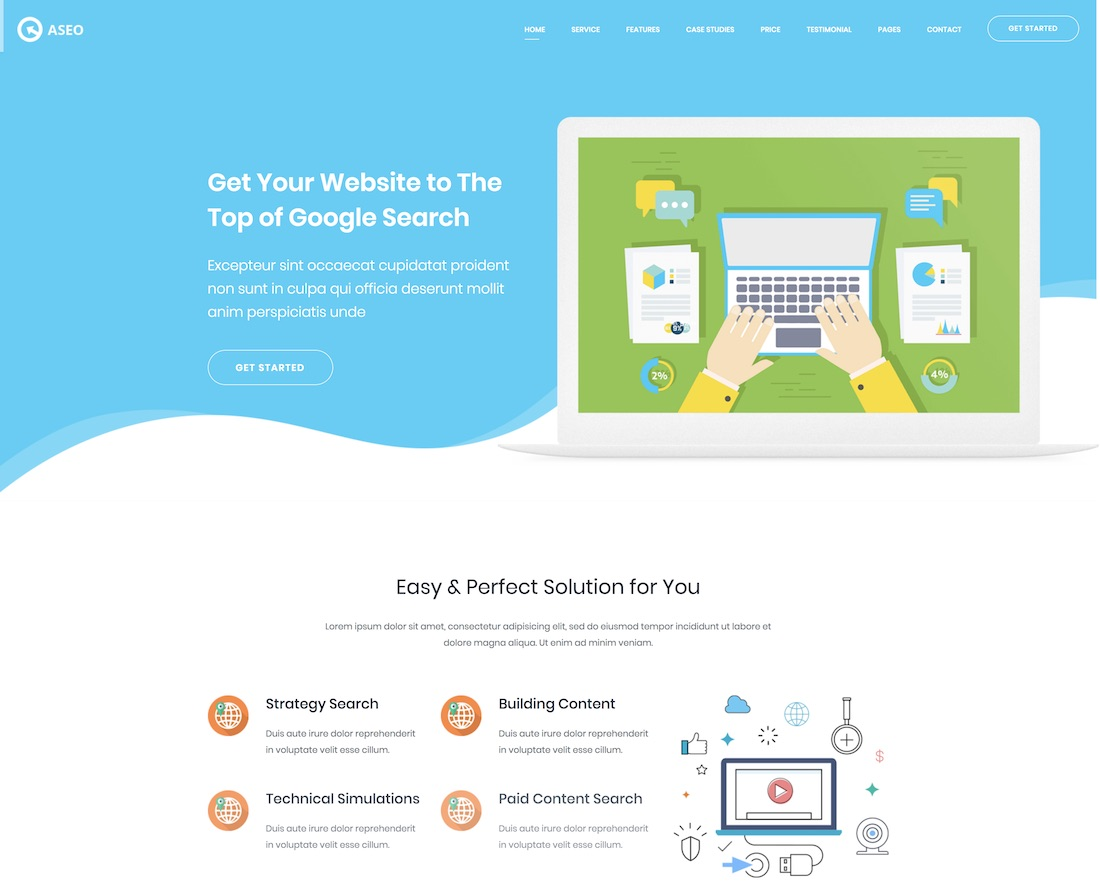 30 Top Advertising & Marketing Website Templates 2019 - Colorlib