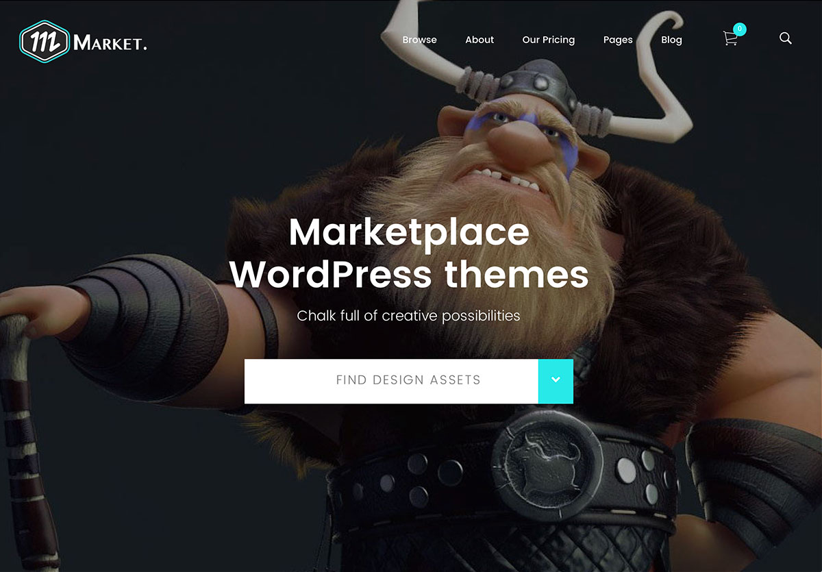 20+ Most Popular Marketplace WordPress Themes 2017