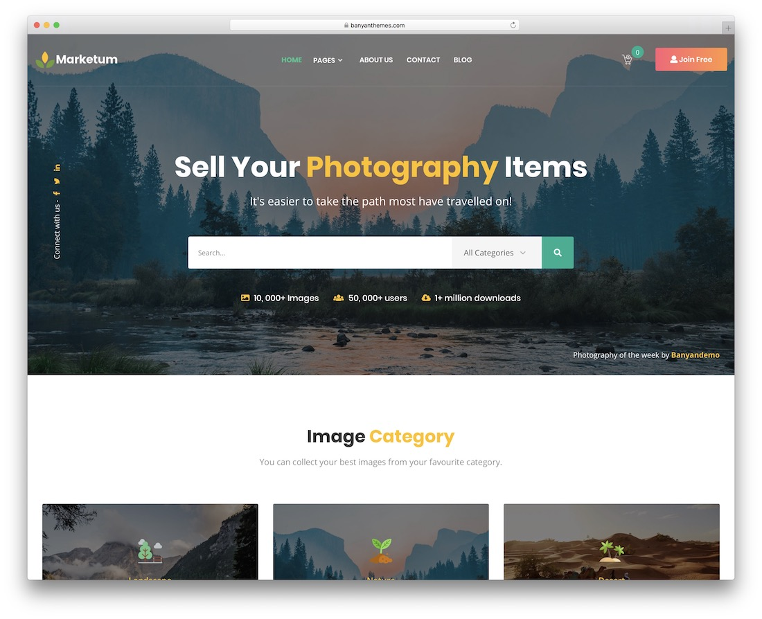 marketum sales page wordpress theme