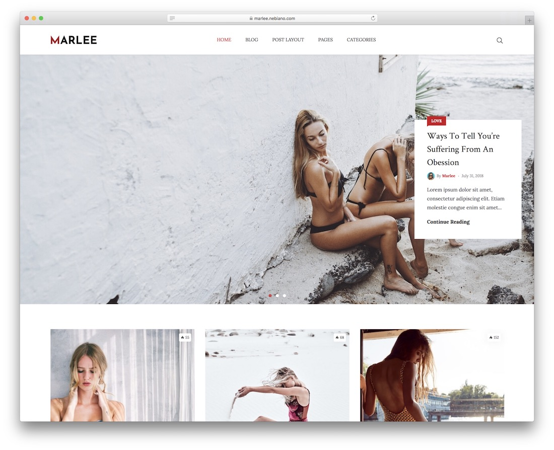 marlee wordpress theme