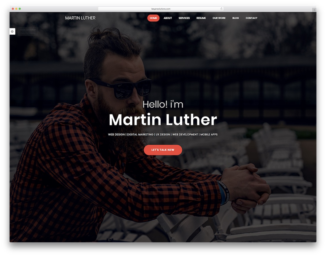 Best Html Resume Templates For Personal Portfolios   Colorlib