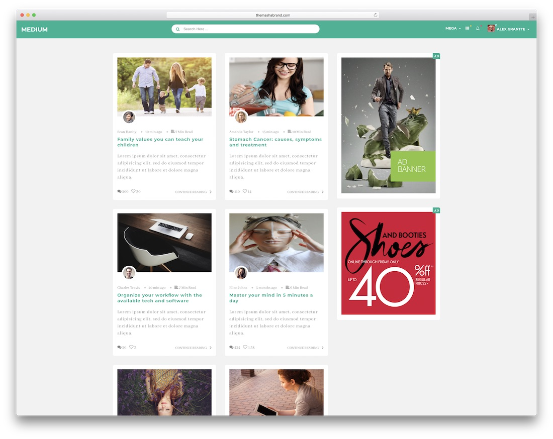 20 best free  u0026 premium bootstrap social network templates