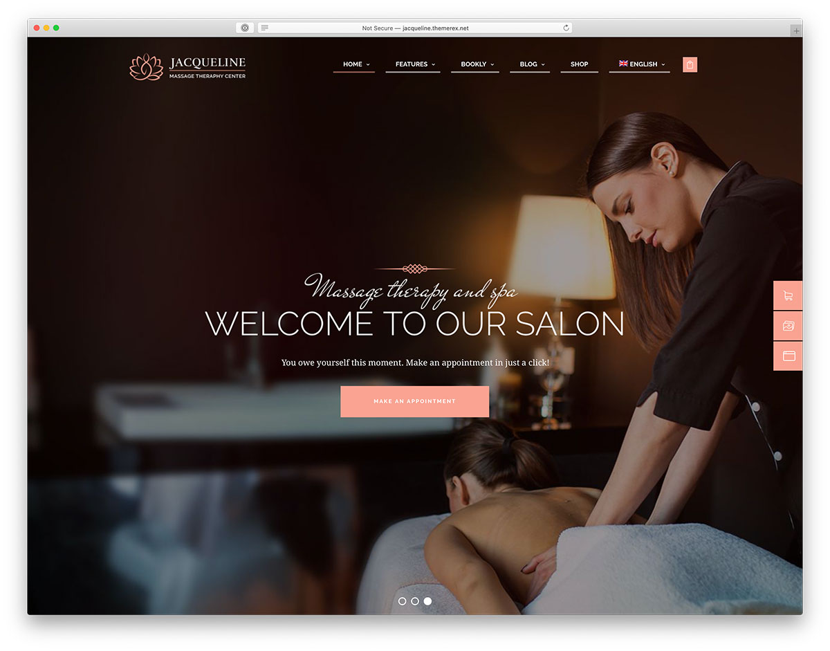 Massage WordPress theme