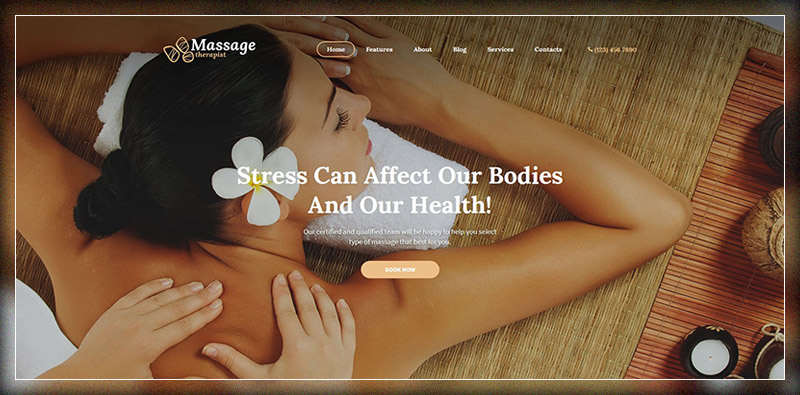 Massage Therapist and Spa Salon Theme