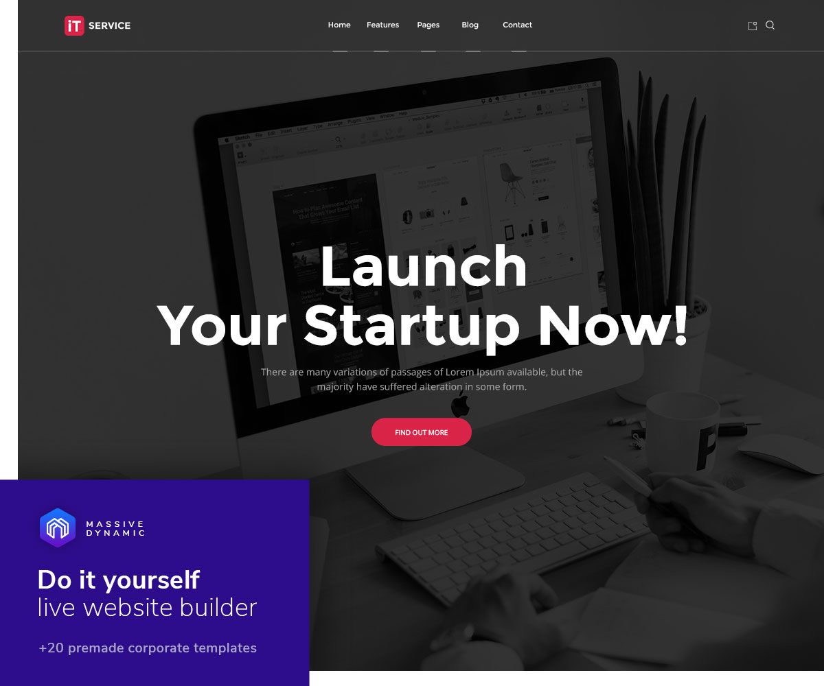 30+ WordPress Themes for IT Companies and Tech Startups 2018 ...
