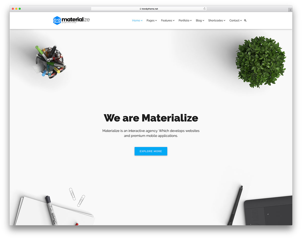 20 Best WordPress Material Design Themes 2019 - Colorlib