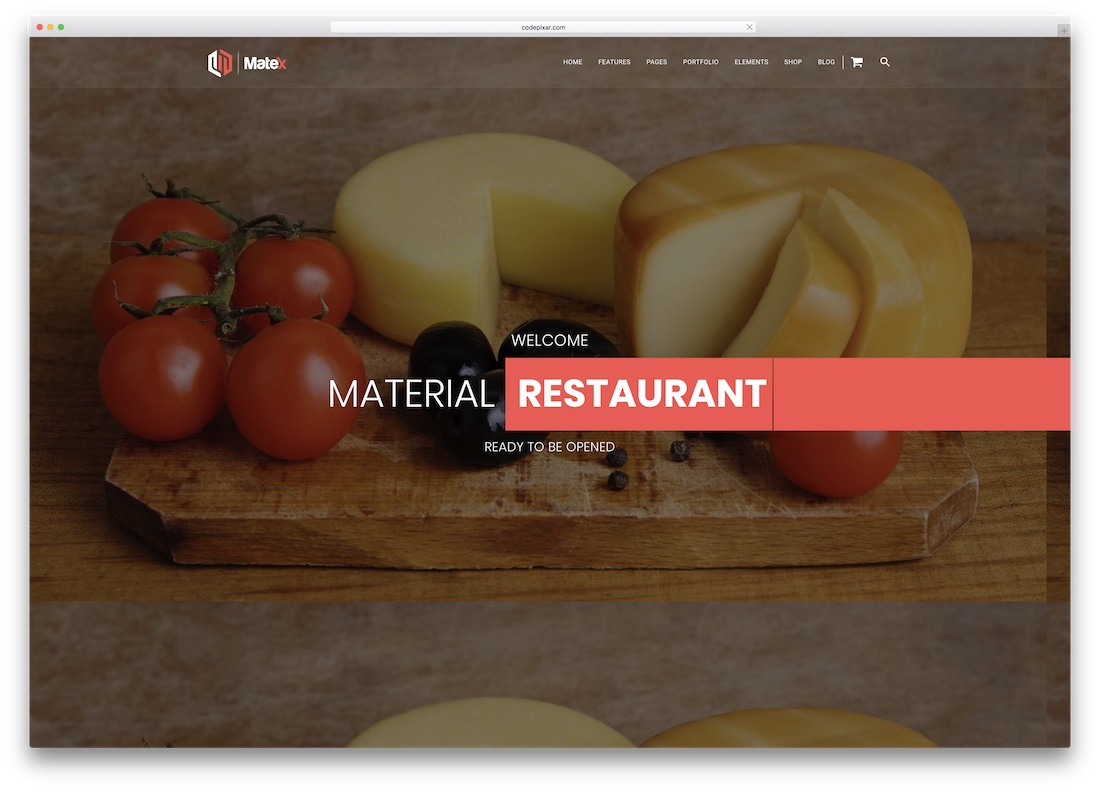 matex html5 website template