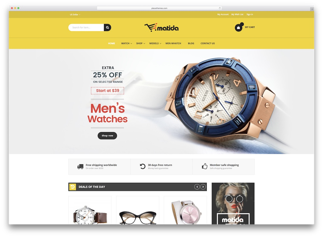 matida magento technology theme