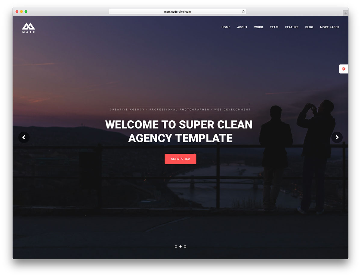 Google themes over the years - Matx Is A Material Design Agency Theme Created As Expected For The Google Market It Has Numerous Demos Templates And A Child Theme