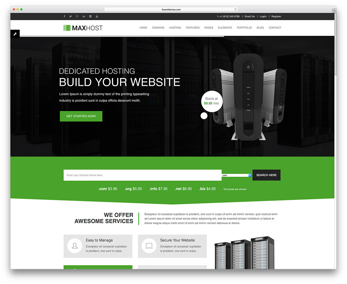 maxhost-web-hosting-wordpress-website-template