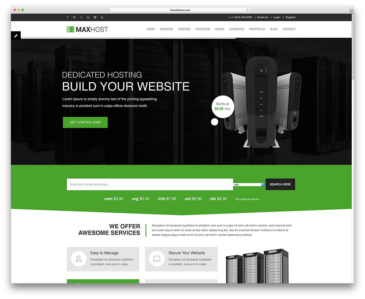 maxhost-web-hosting-wordpress-website-template