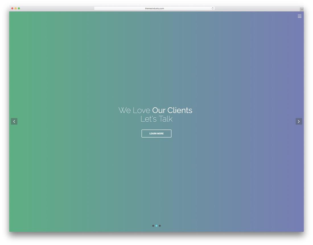 maxo graphic design website template