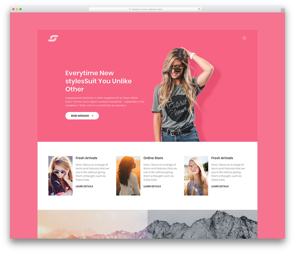 41 Best Free Website Templates For A Trendy Web Space 2019