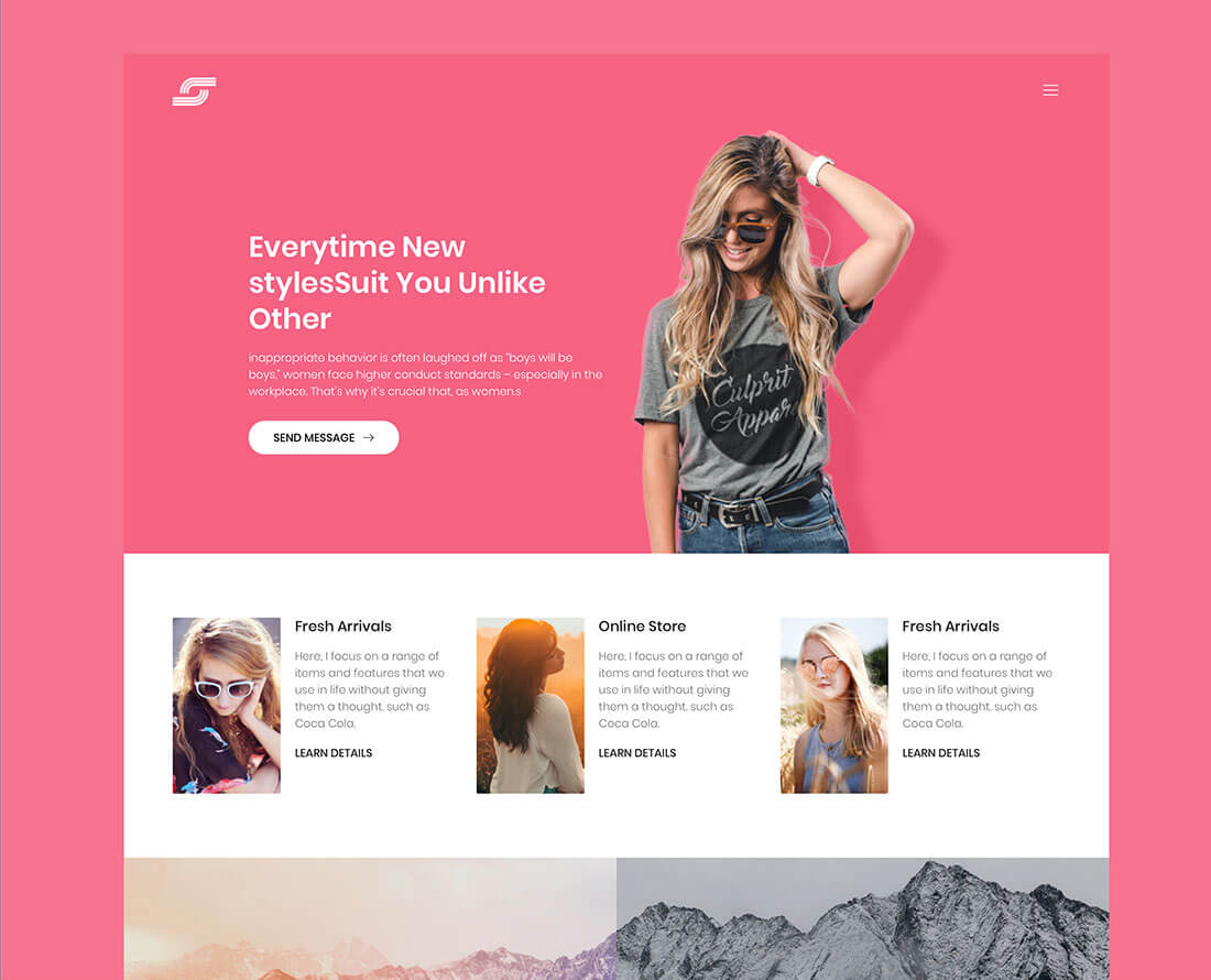 maze helps you to create an eye catching personal website you get a premium feel free website template with the maze it is also a multi page website - Free Website Templates