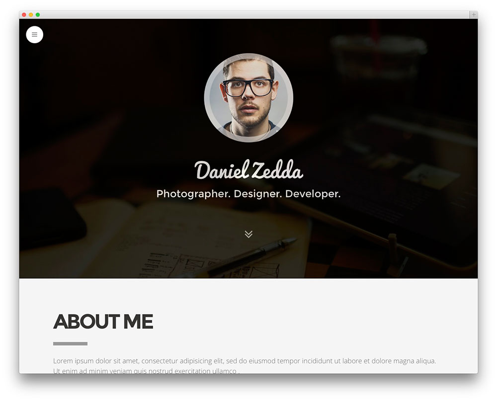 personal website resume examples personal resume website example template vcard and templates for your online portfolio