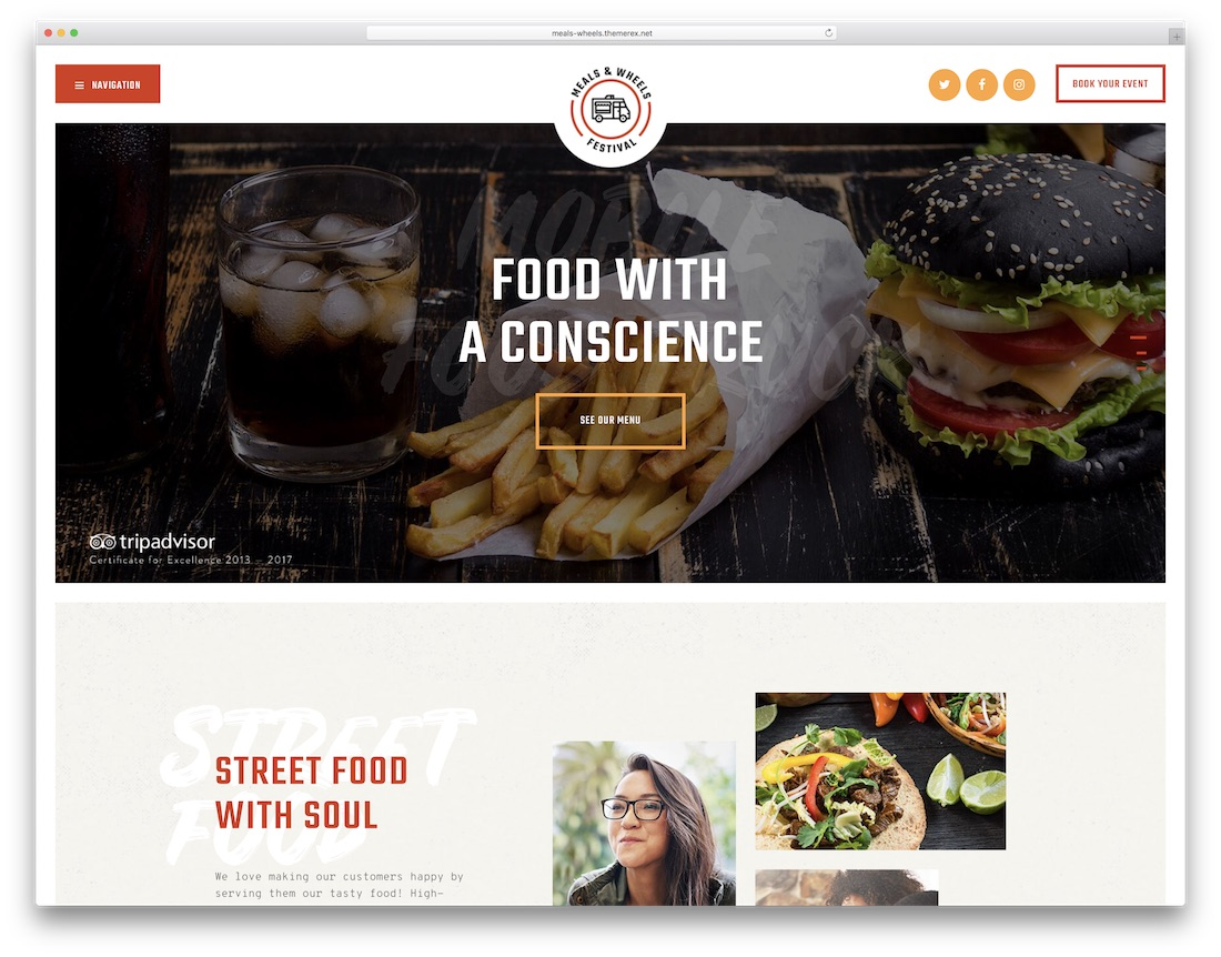 14 Food Delivery Service WordPress Themes 2019 - Colorlib