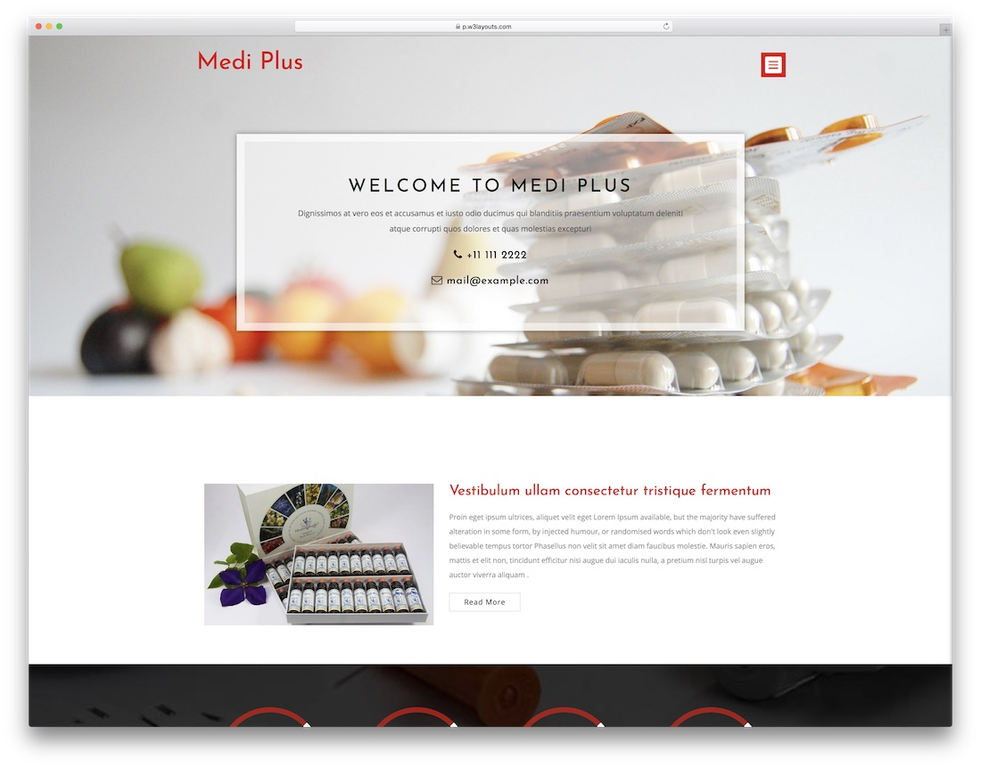 26 Best Free Medical Website Templates For Clean Pages 2018 Colorlib