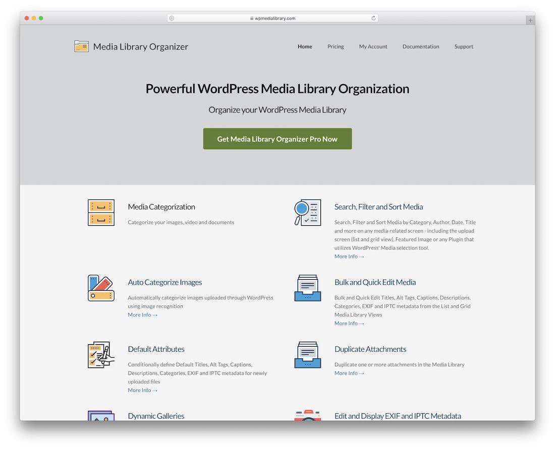 media library organizer pro