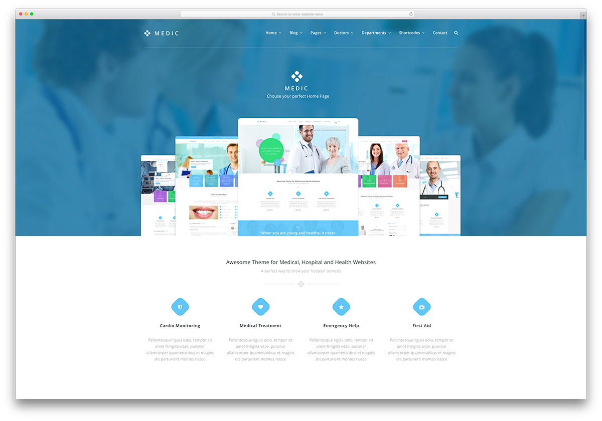 medic-creative-doctor-website-wp-theme