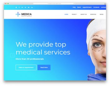 Medica Free Template