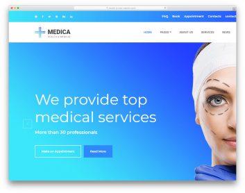 Medica Free Template