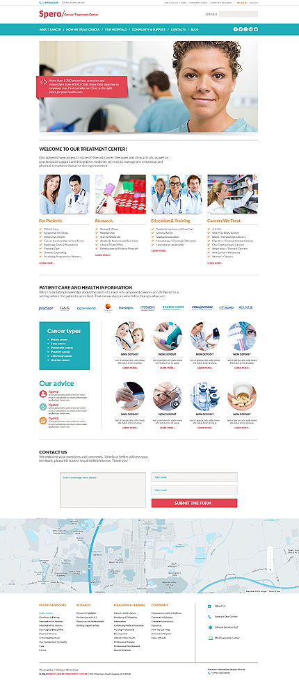 Rehabilitation Responsive WordPress Theme