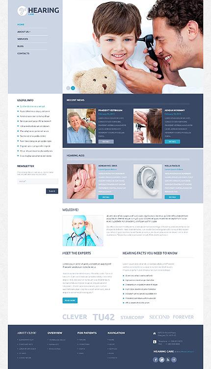 Medical Responsive WordPress Theme