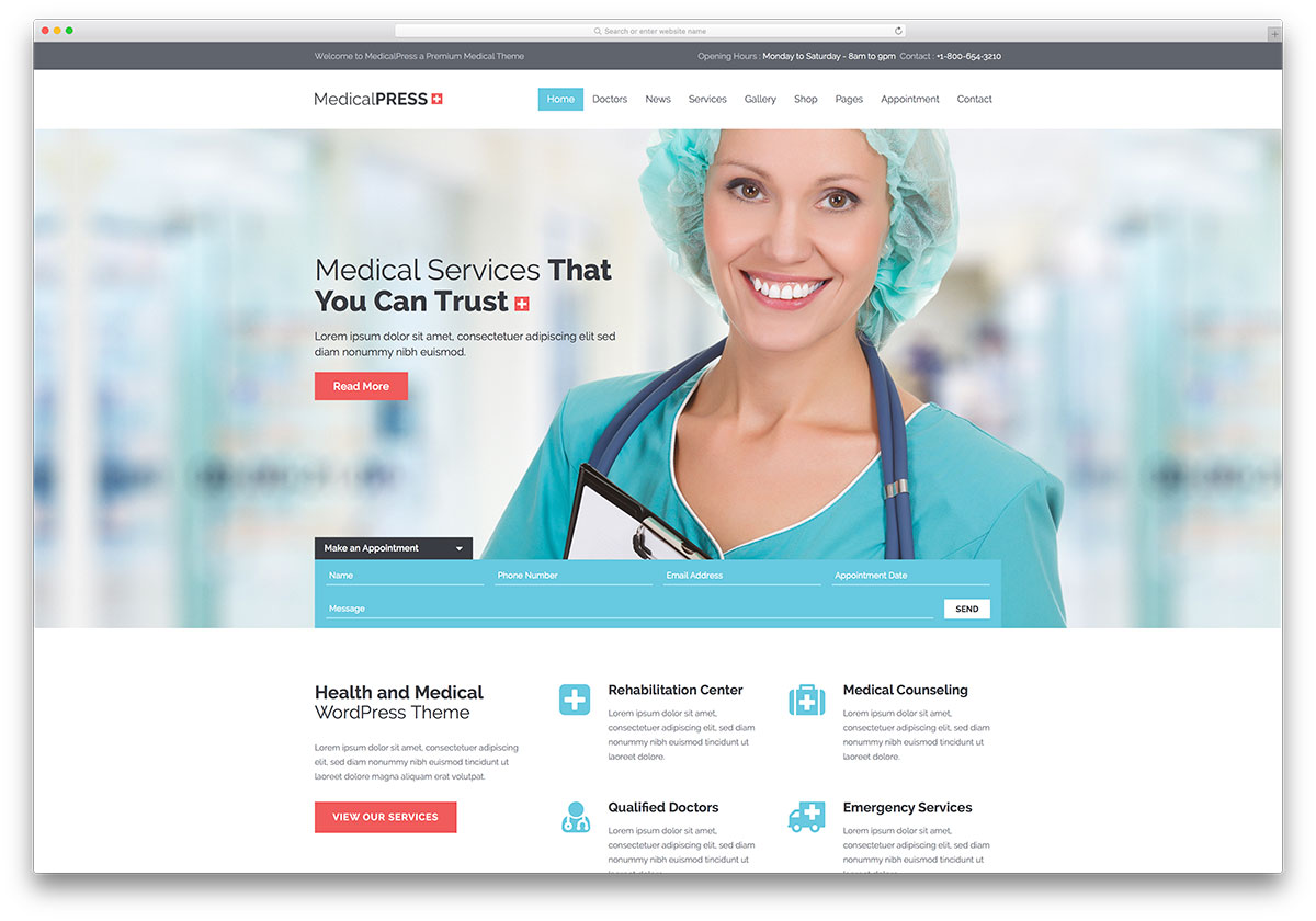 medicalpress-popular-doctor-website-template