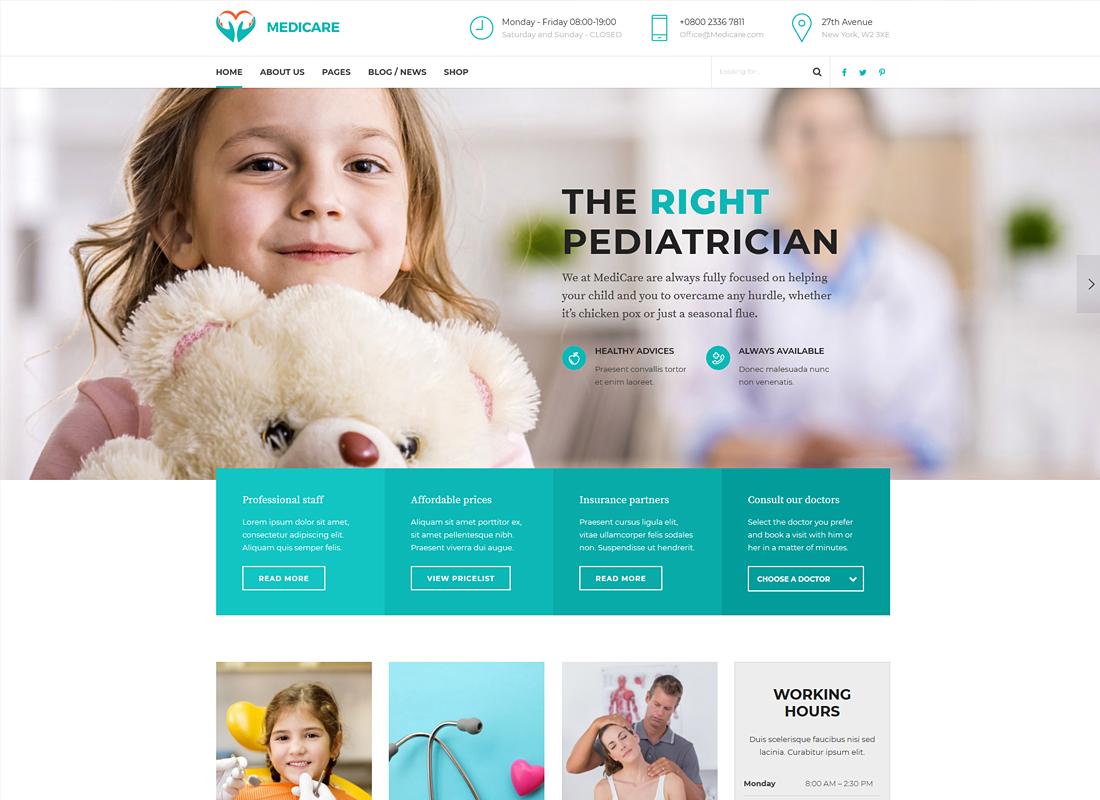, Top 20 Amazing Personal Doctor WordPress Themes 2019, Rojak WP