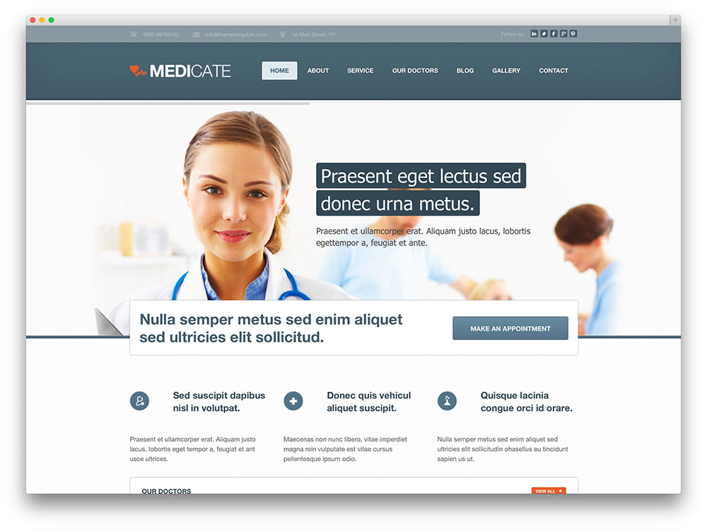 20 Best Health and Medical WordPress Themes For Hospitals, Doctors ...
