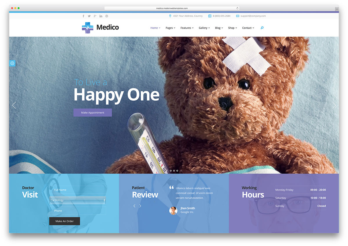 medico-beautiful-medical-website-template