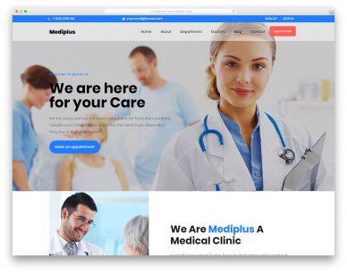 Mediplus Free Template