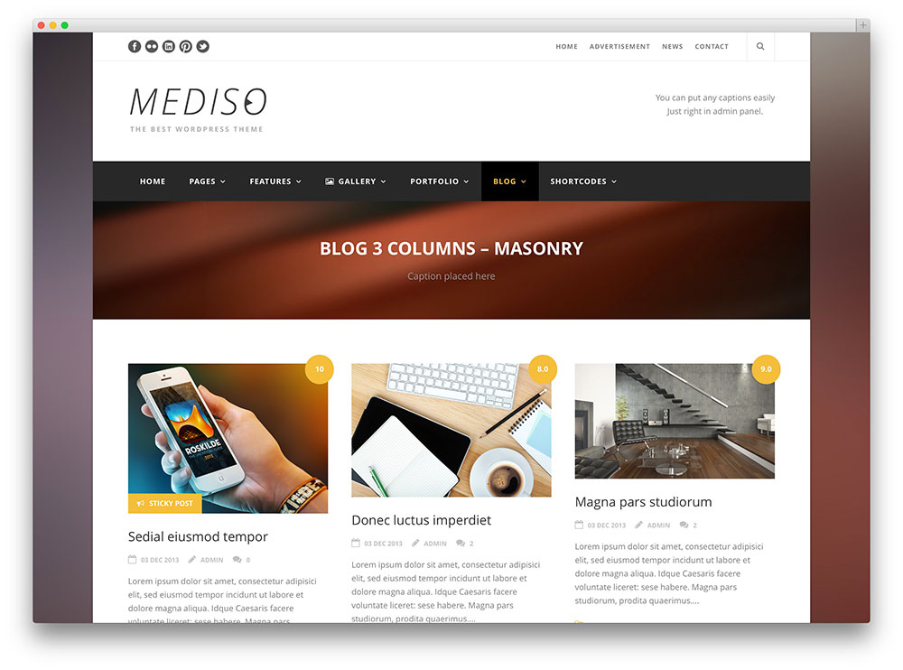 mediso multipurpose theme