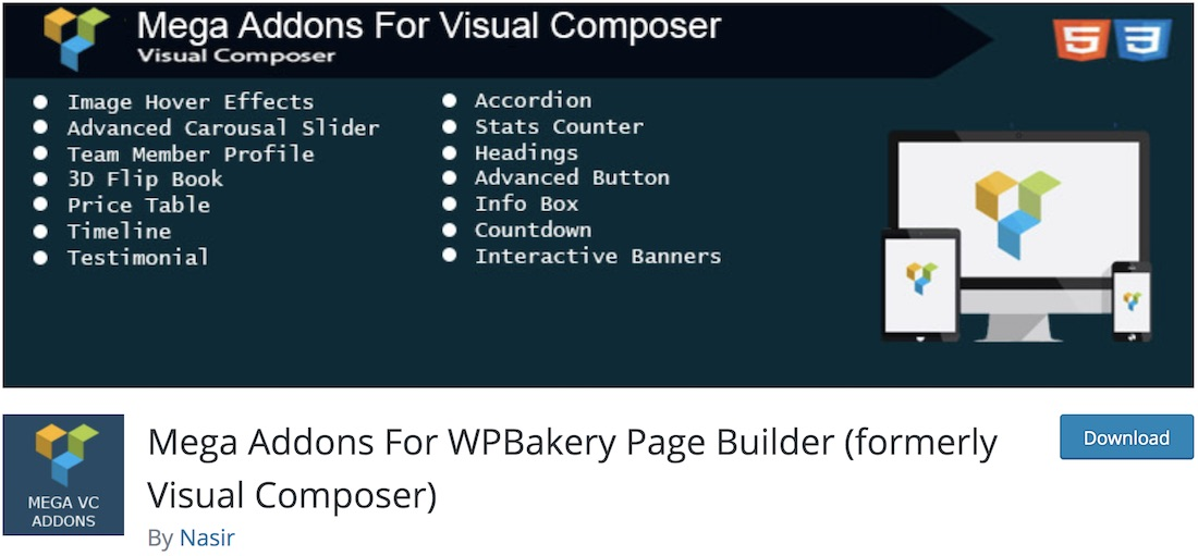 Top 25 Free Visual Composer Extensions for WordPress 2019 - Colorlib