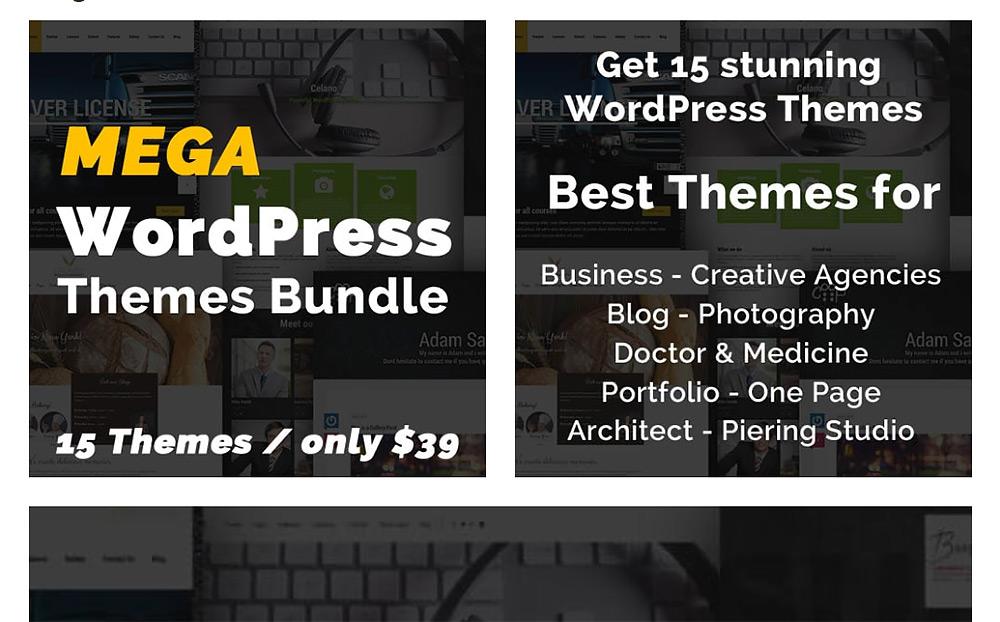 Mega WordPress Theme Bundle
