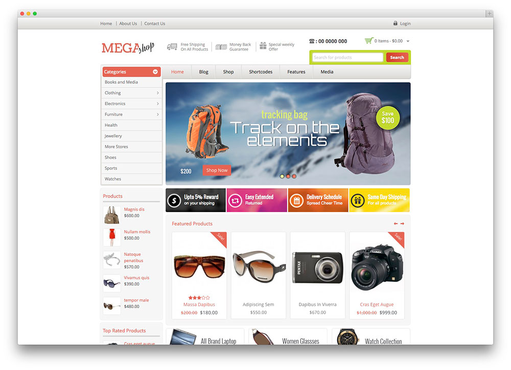 ecommerce wordpress theme free download