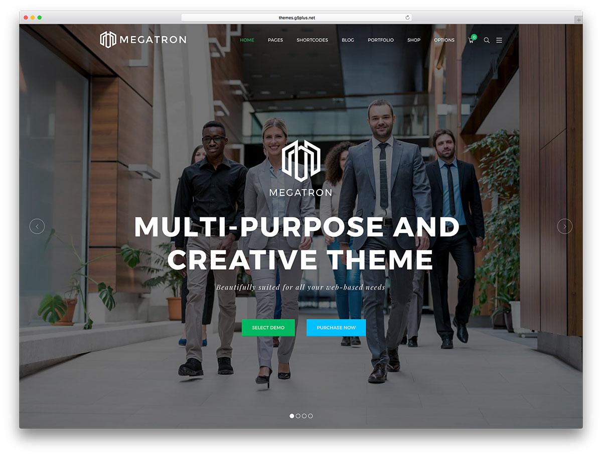70 Best Business Wordpress Themes 2019 Colorlib
