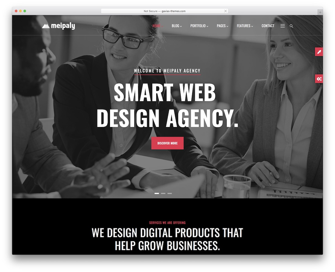 meipaly drupal business template